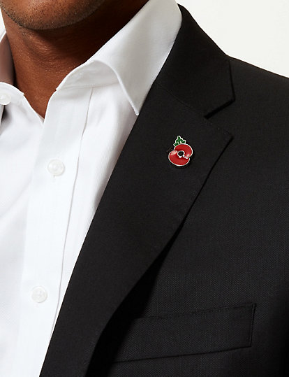 The Poppy Collection® Lapel Pin | Cufflinks | Marks and Spencer NZ