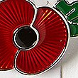 The Poppy Collection® Lapel Pin, RED MIX, swatch