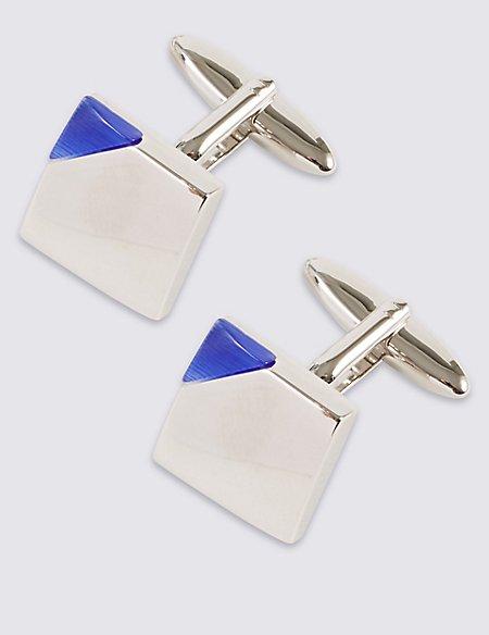 Corner Colour Cufflinks