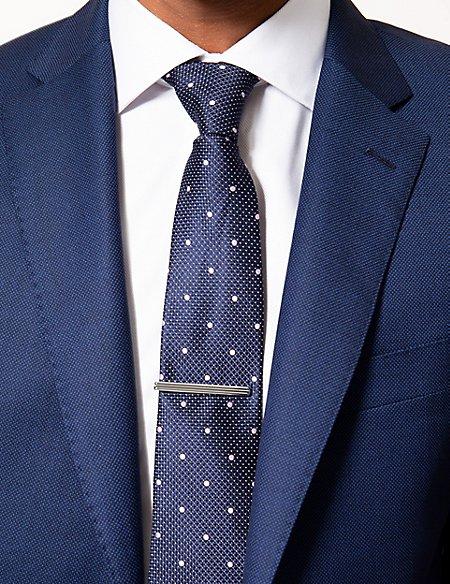Horizontal Stripe Tie Clip