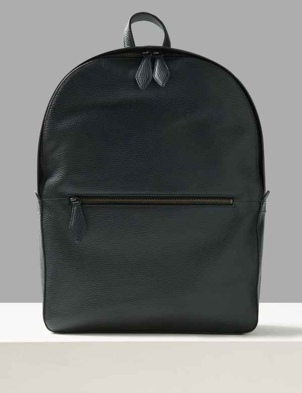 8f9de3eb128 Pebble Grain Leather Backpack