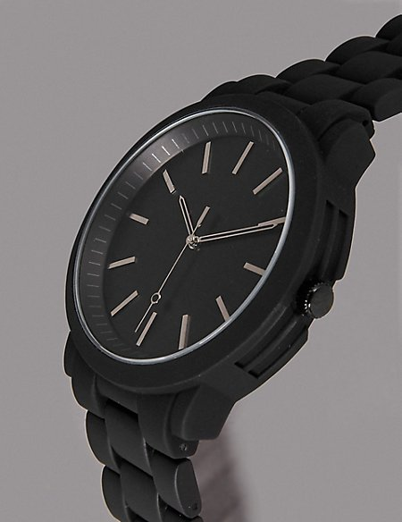 Luxury Black Face Watch