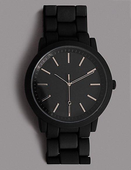 Luxury Black Face Watch