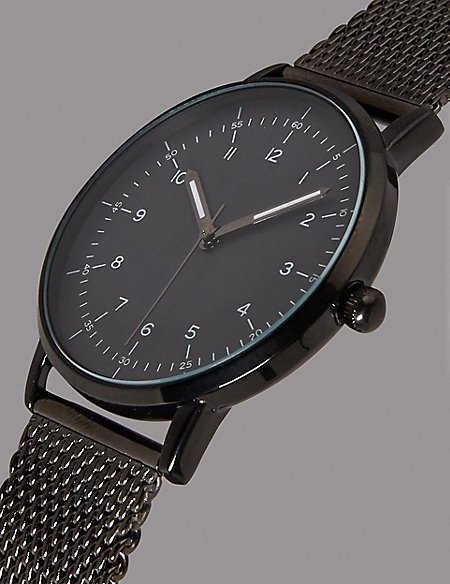 Luxury Milanese Watch