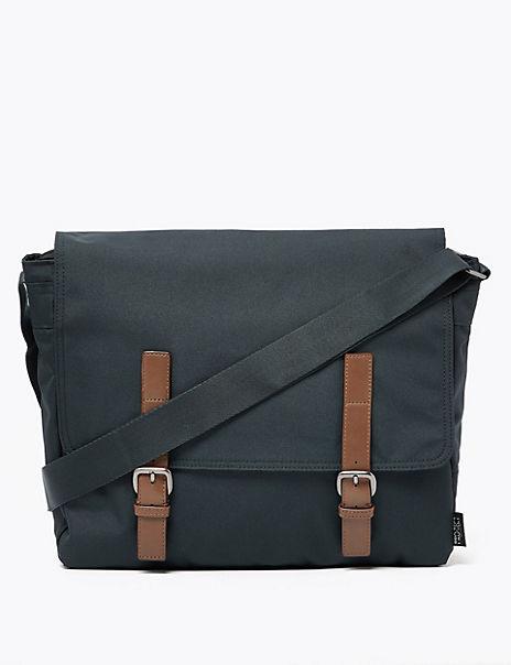Pro-Tect™ Oxford Messenger Bag