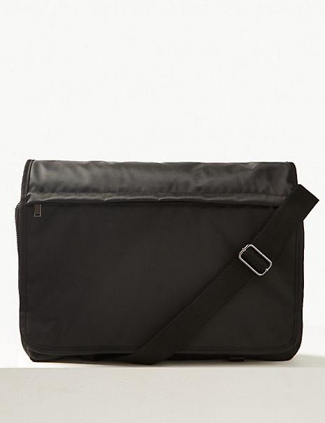 Scuff Resistant Pro-Tect™ Messenger Bag