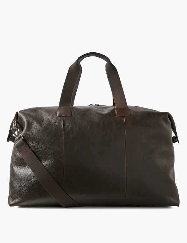 5cb6b5c06b Casual Leather Large Holdall