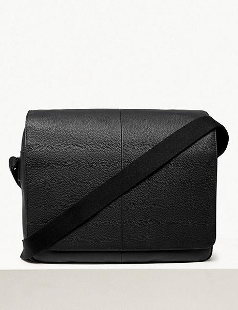 Windsor Leather Messenger Bag