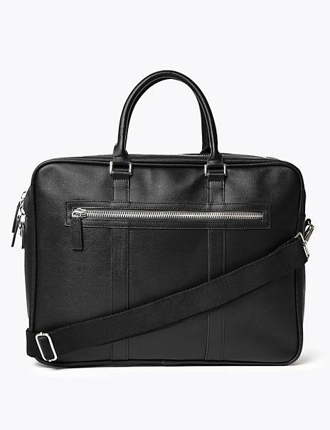 Saffiano Briefcase
