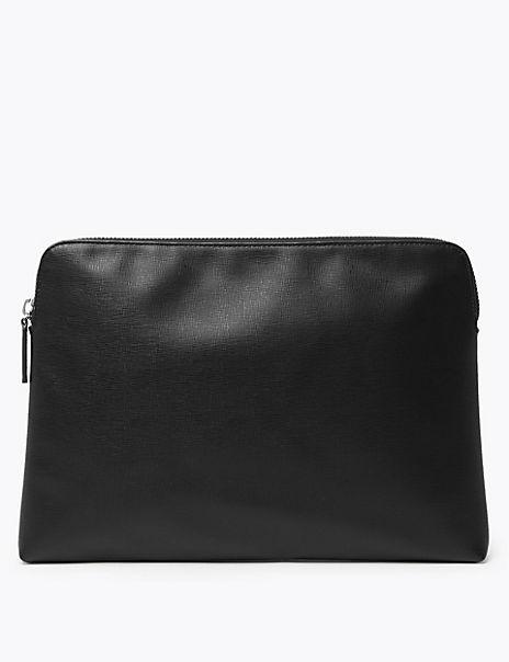 Saffiano Folio Bag