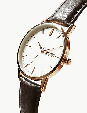 Slim Day Date Watch