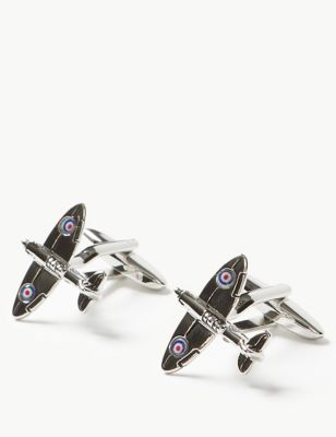 Plane Cufflinks by Marks & Spencer