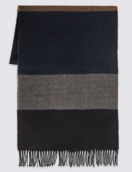 Horizontal Striped Scarf
