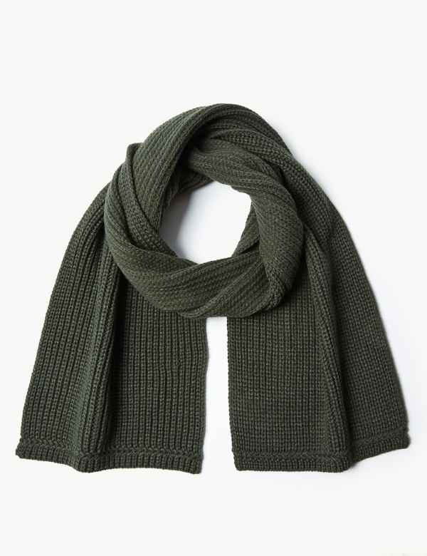 Knitted Scarf. M S Collection c754eb154956