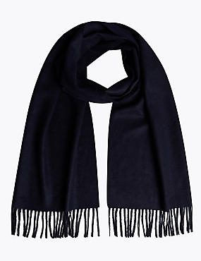 Pure Cashmere Wider Width Scarf