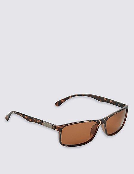 Classic Polarised Rectangle Sunglasses