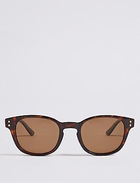 Polarised D Frame Sunglasses