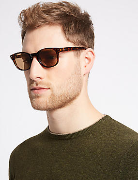 Polarised D Frame Sunglasses