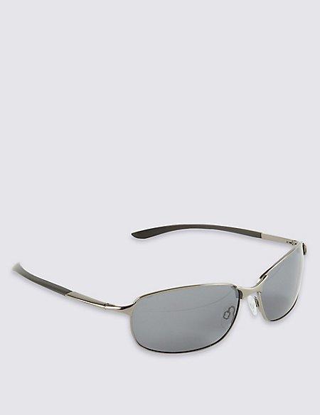 Polarised Oval Sunglasses