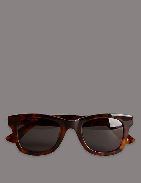 Handmade Chunky Tortoiseshell Retro Acetate Sunglasses