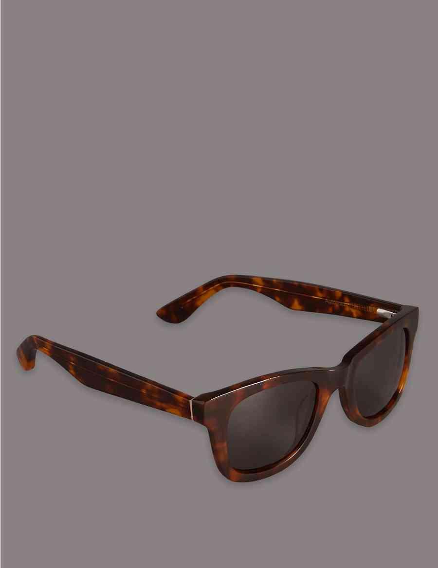 ef249986fa Handmade Chunky Tortoiseshell Retro Acetate Sunglasses