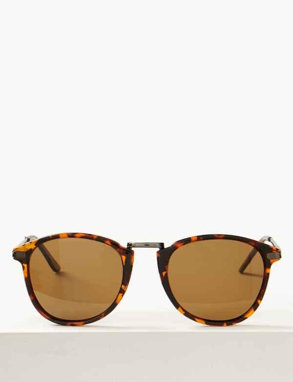 eb51546b37 Polarised Round Sunglasses