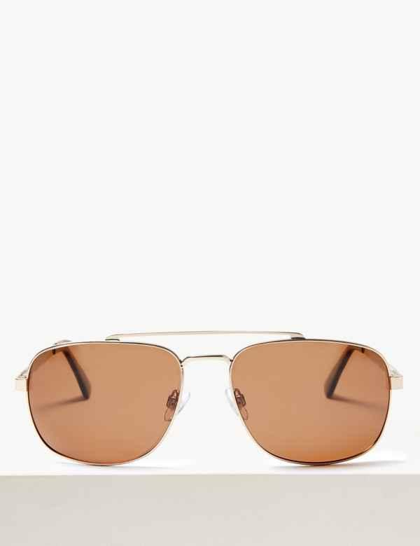7f5be1f0ece Mens Sunglasses | Round & Rectangular Frame Sunglasses | M&S
