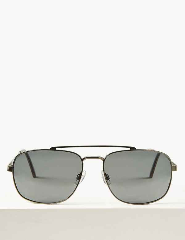0c824a5301 Polarised Aviator Sunglasses