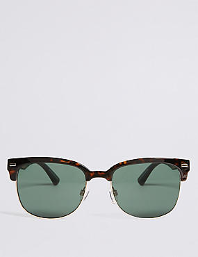 Retro D Frame Sunglasses