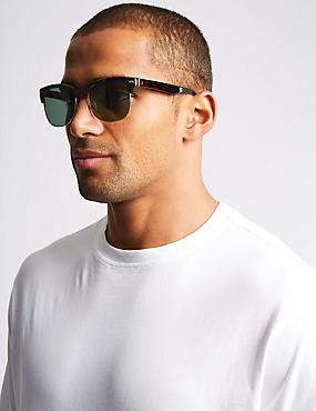 Retro D Frame Sunglasses