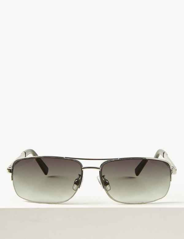 ae34ffa25ef4 Mens Sunglasses | Round & Rectangular Frame Sunglasses | M&S