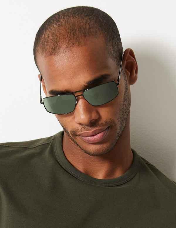 78777e0879 Polarised Rectangular Sunglasses