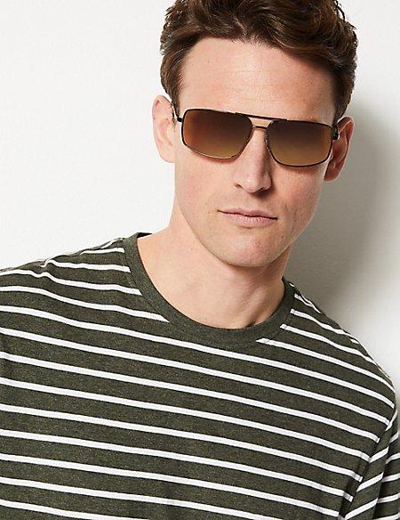 Polarised Rectangular Sunglasses