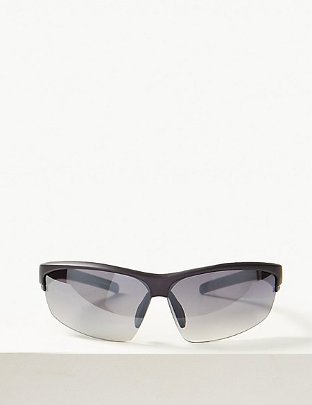 Half Rim Sport Sunglasses