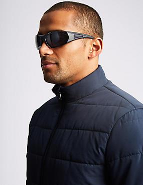 Impact Resistant Wrap Sunglasses