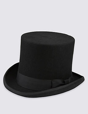 Pure Wool Top Hat with Stormwear™