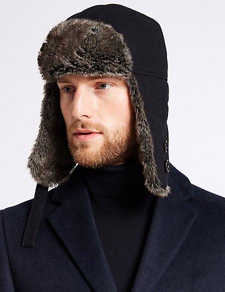 Melton Trapper Hat