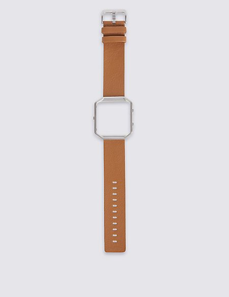 Fitbit Blaze Leather Band and Frame (Large)
