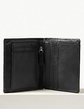 Leather Bi Fold Wallet with Cardsafe™