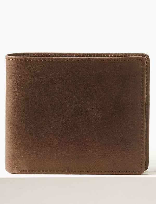df123c2d66 Leather Bi-fold Wallet with Cardsafe™