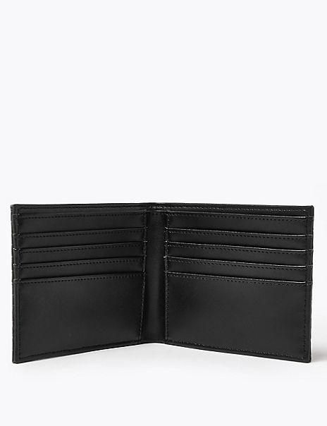Mock Crocodile Leather Wallet with Cardsafe™