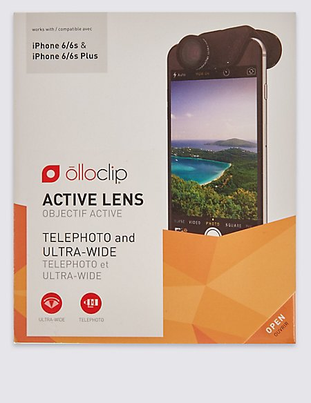 Active Lens for iPhone 6/6s & 6/6s Plus