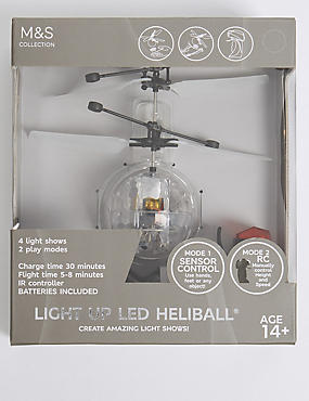 Light Up UFO Heliball