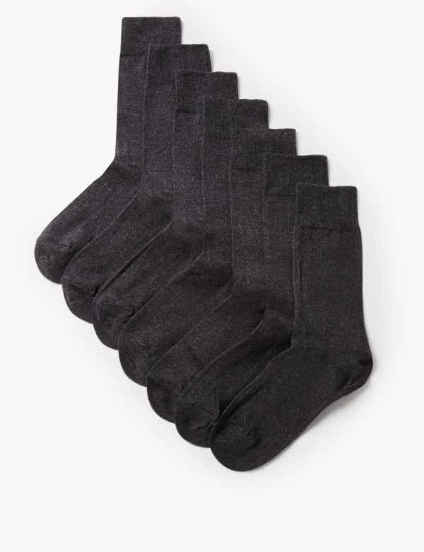 b809d39ca 7 Pack Cool   Freshfeet™ Cotton Rich Socks