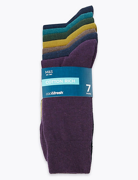 7 Pack Cool & Fresh™ Socks