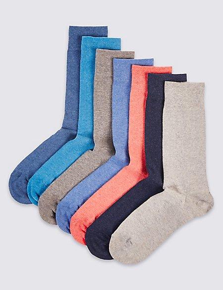 7 Pack Cool & Freshfeet™ Socks