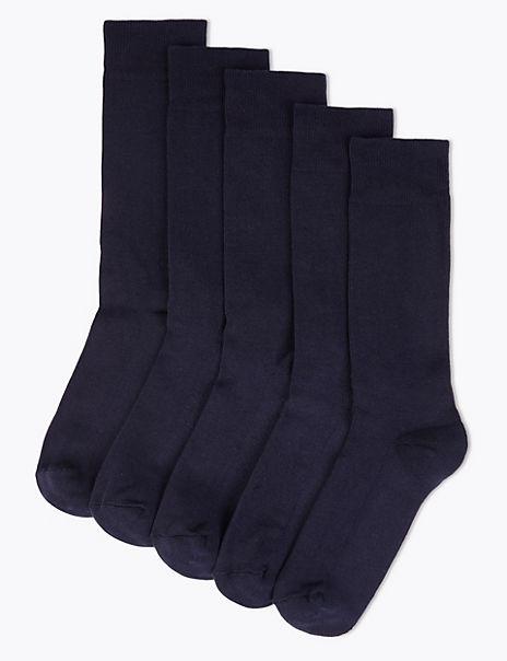 5 Pack Cool & Fresh™ Cushioned Sole Socks