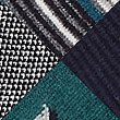 5 Pack Cool & Fresh™ Bird Embroidered Socks, TEAL MIX, swatch