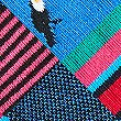 5 Pack Cool & Fresh™ Bird Embroidered Socks, PINK MIX, swatch