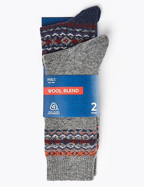 2 Pack Wool Cool & Fresh™ Thermal Socks